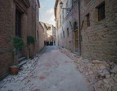Terremoto nelle Marche, Amandola: il monastero delle suore Benedettine (foto…