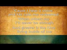 ▶ Greater - MercyMe (2014) HD - with lyrics - YouTube