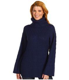 Lacoste Novelty Stitch Wool Blend Turtleneck Sweater