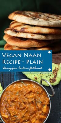#Vegan #Naan #Recipe #Plain #Dairy-free #Indian #flatbread Keto Recipes, Dinner Recipes, Healthy Recipes, Vegan Naan, Dessert Drinks, Desserts, Naan Recipe, Brownie Cake, Allrecipes
