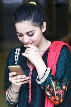 Fashionable young lady in Pakistan