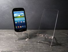 Hey, I found this really awesome Etsy listing at https://www.etsy.com/listing/151883407/transparent-acrylic-anroid-phone-stand