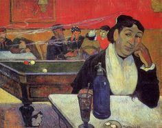 Le Café de nuit à Arles -The Night Cafe in Arles, Paul Gauguin, 1888.