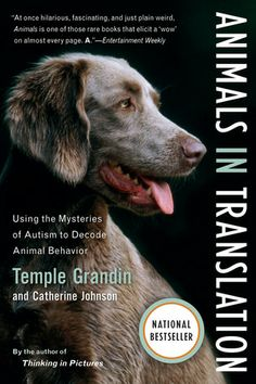 Temple Grandin credits her autism with giving her insights into animal's behaviour, but her dedicated career has established her as a leader in her field. Fascinating book.