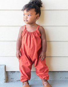 PDF Pattern Boho Romper Babies/Toddlers Premie to image 3 Baby Sewing Projects, Sewing For Kids, Toddler Outfits, Girl Outfits, Toddler Clothes Diy, Babies Clothes, Children Clothes, Toddler Crafts, Bandana Bib Pattern