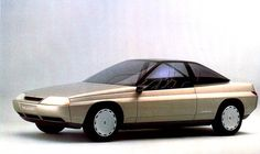 Peugeot Griffe 4 (Pininfarina), 1985