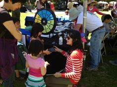 Visitors to our booth tested their knowledge of WSIP facts by spinning the prize wheel to with fun prizes. Buy this Prize Wheel at http://PrizeWheel.com/products/tabletop-prize-wheels/mini-clicker-prize-wheel/.