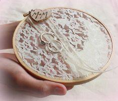 Inspiración Bodas: Porta alianzas originales DIY / Wedding ring holders