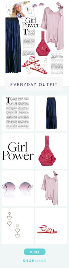 Girl Power created on ShopLook.io featuring , Maison Margiela, , manu atelier, fendi, valentino, frasier sterling, raye perfect for Everyday.