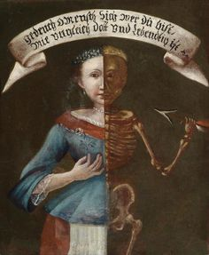 Memento mori, Southern German School 18th century