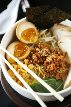 Skewer in East Memphis serves eight types of aromatic and comforting ramen, such as this delicious bowl!