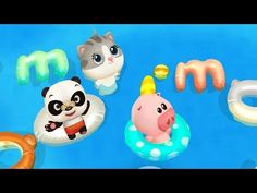 Dr. Pandas Schwimmbad - Spiel für kleine Kinder, iOS, Android, Kindle Fire