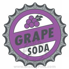 the ellie badge - grape soda