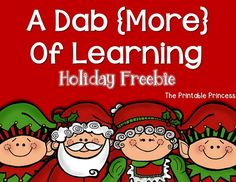 CVC bingo dabber FREEBIE! A fun way to teach short vowel words using bingo dabbers. Great for fine motor skills too! #TPT