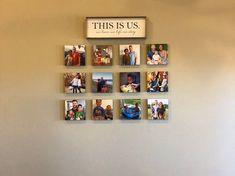 Personalized Photo Tiles on Ultraboard 8x8 Set | Etsy