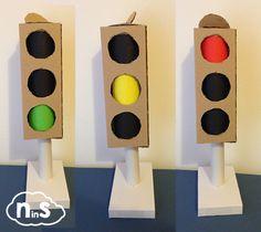 Piccolo tutorial per costruire un semaforo fai-da-te, con una maniglia per…