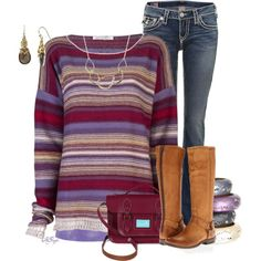 """""""Striped Sweater Contest"""" by kginger on Polyvore"""