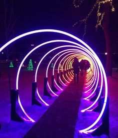 Passage returns to Niagara Falls this winter! Find it along Fallsview Boulevard for a limited time only from November 3 to This mesmerizing tunnel of light was created by the amazing 🌀 Winter Light Festival, Festival Lights, Lighting Concepts, Lighting Design, Light Tunnel, Light Art Installation, Stage Lighting, Futuristic Architecture, Landscape Lighting