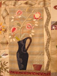 Another lovely quilt by Yoko Saito from a workshop in Florence, Italy.