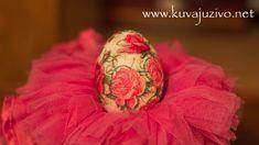 Uskrsnja jaja - Decoupage easter eggs- Tutorial