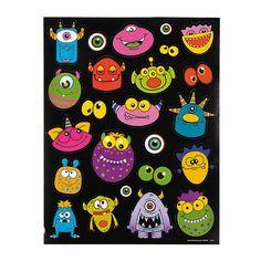 Monster+Stickers+-+OrientalTrading.com