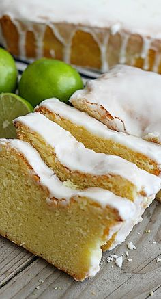 Coconut Lime Greek Yogurt Pound Cake