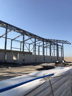 Çelik Kontrüksiyon #çelikyapılar #çelik #metal #fabrika #işyeri #tonoz