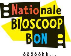 Bioscoopbon, 1 voor M en 1 voor J