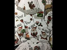 YouTube Christmas Card Crafts, Christmas Gift Wrapping, Simple Christmas, Christmas Holidays, June Bug, Craft Show Ideas, Gift Tags, Make It Yourself, Bookmarks