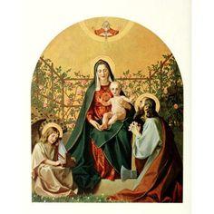 Christliche Kunst 2 1905 Holy Family Canvas Art - Gebhard Fugel (18 x 24)