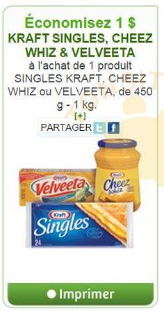 Velveeta, G 1, Coupons, Quebec, Food, Favors, Free Samples, Recipe, Cheese
