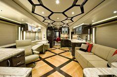 30+ Awesome Luxurious Airstream Interior Ideas