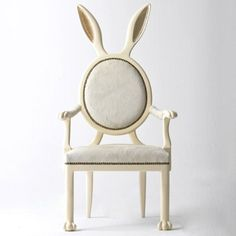 Rabbit Ears Dining Chair - Alice in Wonderland Decor - via Small for Big