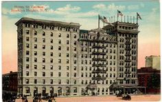The Hotel St. George - a significant landmark in both my and my father's lives.