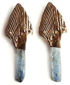 SUZANNAH WAINHOUSE  FEATHER EARRINGS