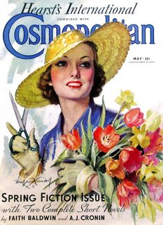 A cover of Cosmopolitan by Bradshaw Crandall
