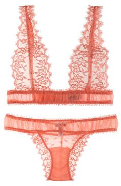 tulle and lace bralet / La Perla