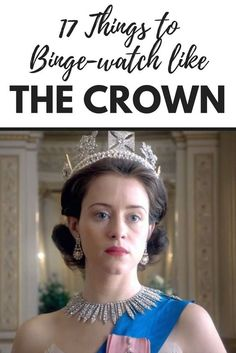 Seventeen suggestions on what to binge-watch on Netflix if you like The Crown. Movies about Queen Elizabeth or set in the early England. via List Movie's to watch Netflix Shows To Watch, Tv Series To Watch, Watch Tv Shows, Hbo Series, Crown Netflix, Netflix Recommendations, Good Movies To Watch, Nice Movies, Inspirational Movies