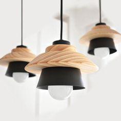 Hanging Wooden Pendant Lamp