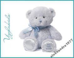 My First Teddy niebieski, Gund