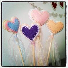 Fairy Heart Wand by morningstarmade on Etsy