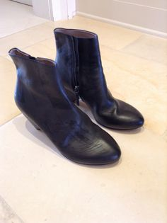 calfskinned boots