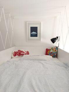 Hochbett im Minizimmer