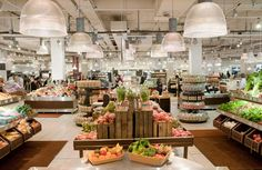 La Grande Epicerie, Paris's largest gourmet grocery (conveniently attached to the elegant Bon Marché department store).