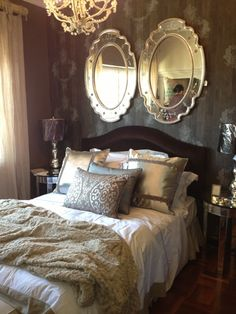 Hi everyone, this is an entry from Susan Hughes Interiors in Johannesburg, Parkhurst. Their nr is 011 788 What a lovely room and fantastic job. Thanks for the entry! Interior Decorating, Bedrooms, Competition, Interiors, Furniture, Home Decor, Decoration Home, Room Decor, Bedroom