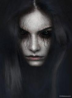 Horror Photography, Dark Photography, Halloween Photography, Foto Fantasy, Dark Fantasy Art, Looks Dark, Beautiful Dark Art, Halloween Makeup Looks, Creepy Halloween