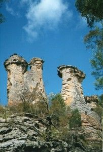 The Chimneys at Mt Moffatt, Carnarvon National Park, #Queensland