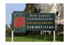 The Bentley Rose - Signage