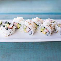 The 9 Most Popular Sushi Rolls - california roll   http://naperville.shintoexperience.com/