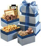 Broadway Basketeers Blue Royale Gift Tower - http://tonysgifts.net/2015/03/11/broadway-basketeers-blue-royale-gift-tower/